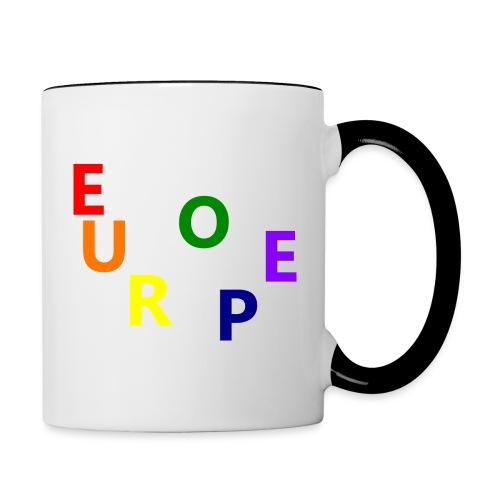 EUROPE #1 - Tasse zweifarbig