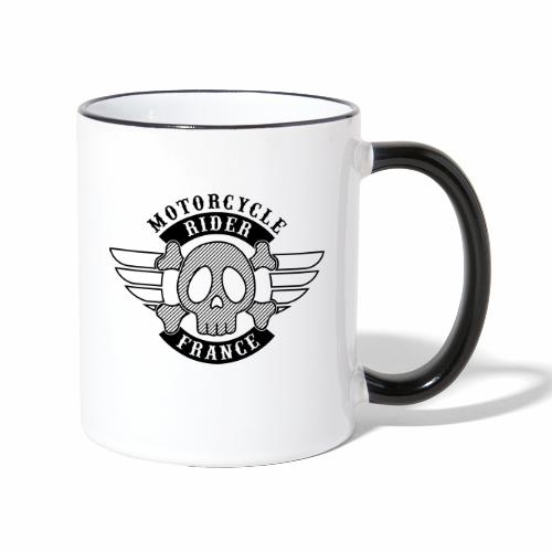 Motorcycle Rider France 'Wing' - Mug contrasté