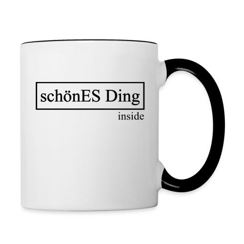 schönES Ding - Inside - Tasse zweifarbig
