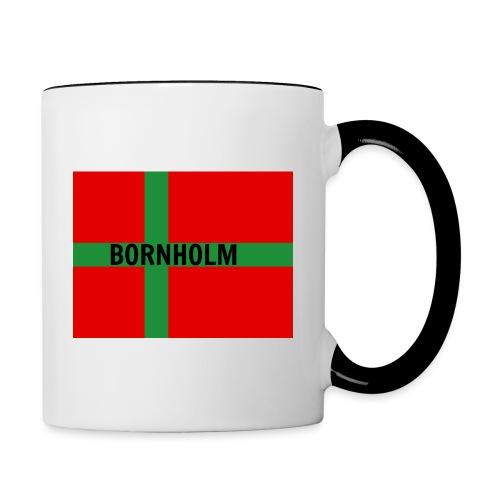 BORNHOLM - Tofarvet krus
