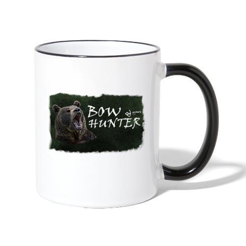 Bowhunter - Tasse zweifarbig