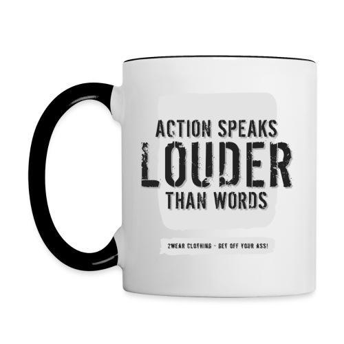 Action Speaks 1.0 - 2wear Classics - Tofarvet krus