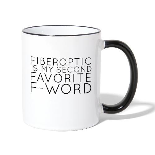 Fiberoptic - Tasse zweifarbig