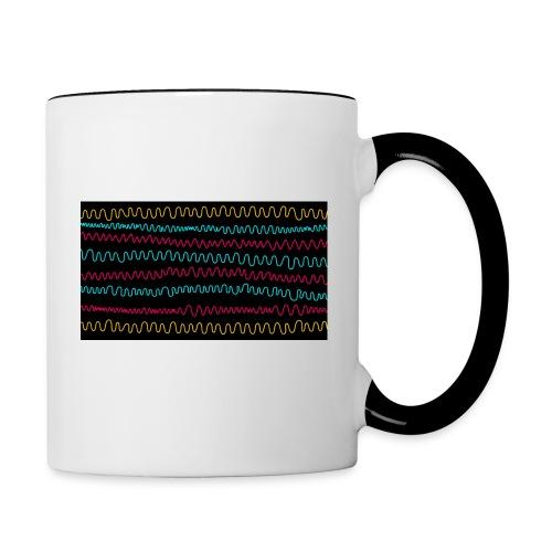wave - Tasse zweifarbig