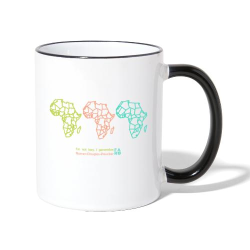 Ramer-Douglas-Peucker Algorithm -Africa - Contrasting Mug