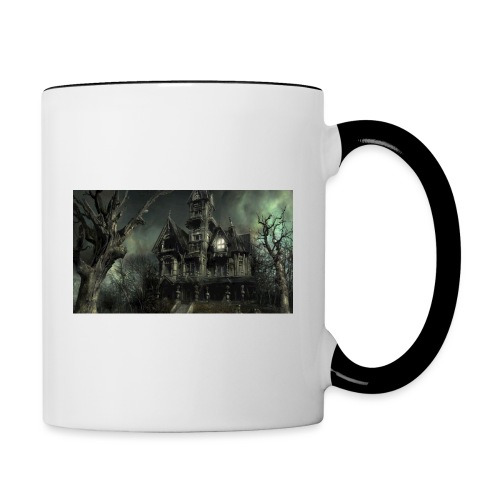 Casa embrujada - Taza en dos colores
