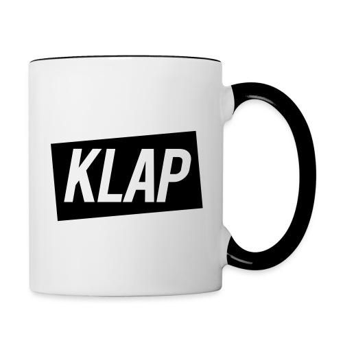 klap logosimple - Mug contrasté