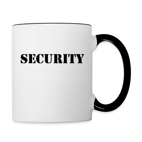 Security - Tasse zweifarbig