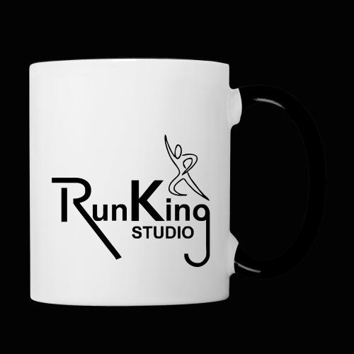 RunKingStudio - Tasse zweifarbig