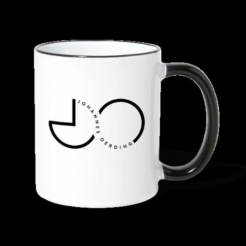 Johannes Oerding Logo - Tasse zweifarbig