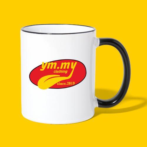YM.MY clothing LOGO - Contrasting Mug