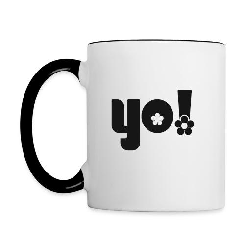 Yo - Tofarvet krus