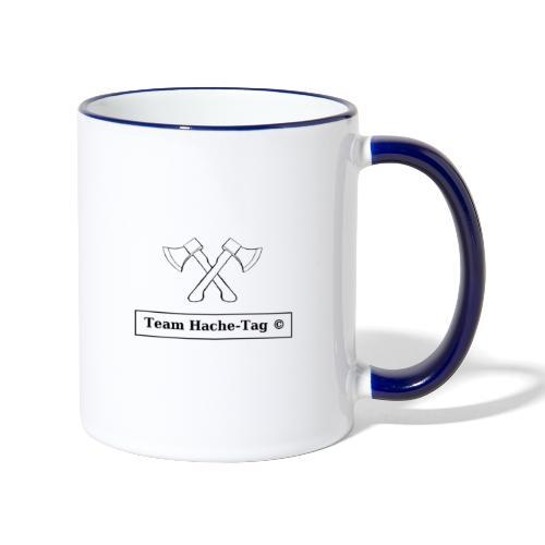 Logo Team Hache-Tag - Mug contrasté