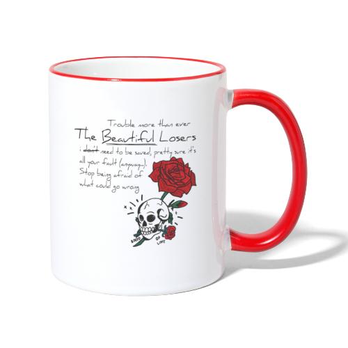 The Beautiful Loosers - Contrasting Mug