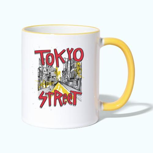 Travel To Tokyo 80s Retro Vintage - Contrasting Mug