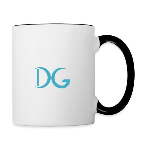 logo dg png - Tasse zweifarbig