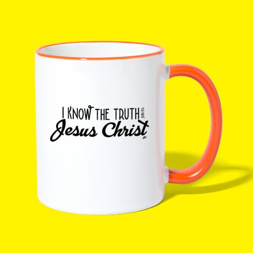 I know the truth - Jesus Christ // John 14: 6 - Contrasting Mug