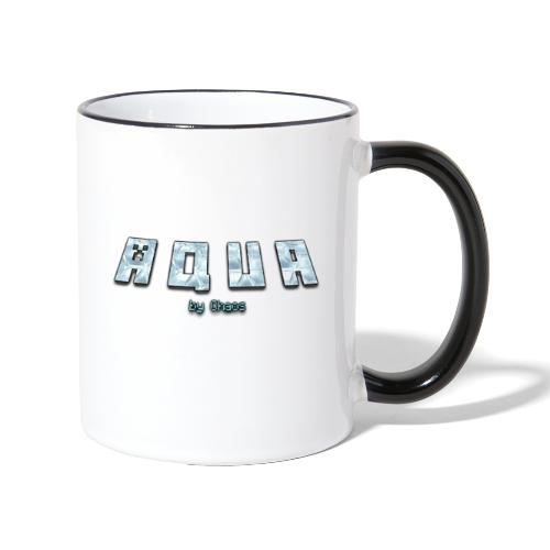 Aqua Design - Tasse zweifarbig
