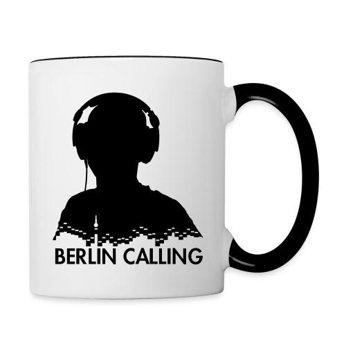 Berlin Calling - Tasse zweifarbig
