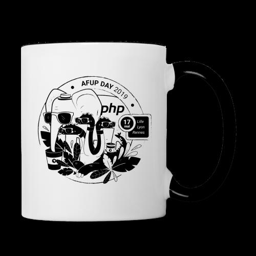 AFUP DAY 2019 - Mug contrasté