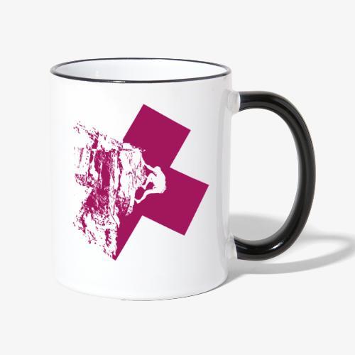 Climbing away - Contrasting Mug