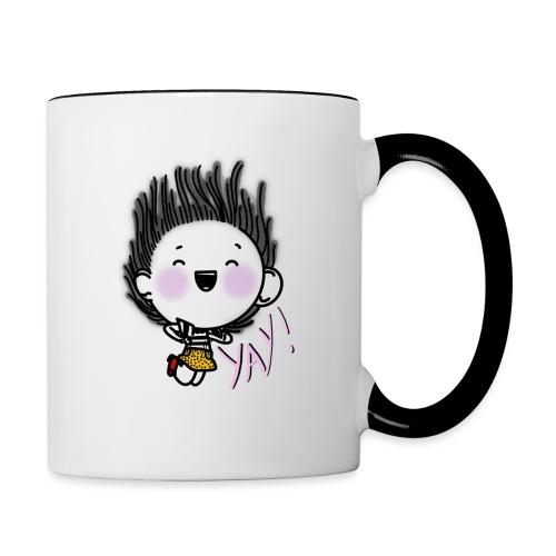 Happy girl - Mug contrasté