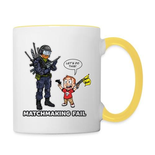 matchmaking1 - Contrasting Mug