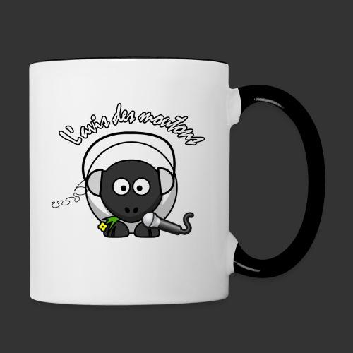 Logo L'Avis des Moutons - Mug contrasté