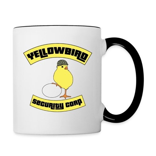 yellowbird final - Mug contrasté