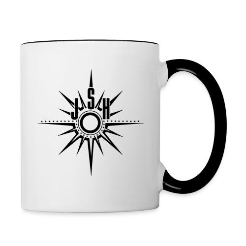 jshlogo14b - Contrasting Mug