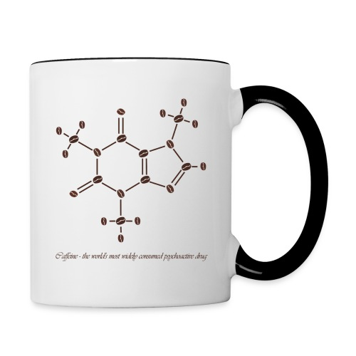 Caffeine - Contrasting Mug
