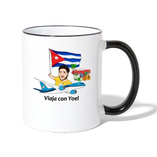 Cuba - Viaja con Yoel - Taza en dos colores
