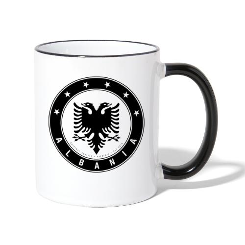 Patrioti Albania Black - Tasse zweifarbig