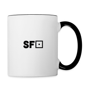 Square Featured Clothing - Contrasting Mug