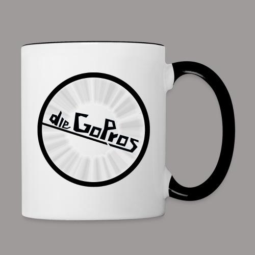 dieGoPros - Tasse zweifarbig