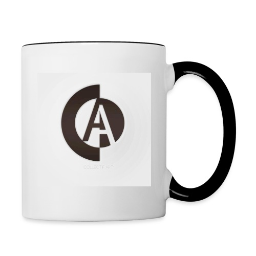 logo_collectif_art - Mug contrasté