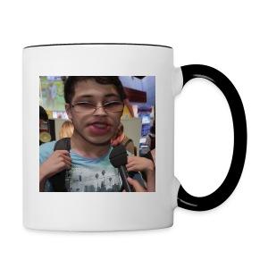 Karim ist nicer als 1 Ryu - Tasse zweifarbig