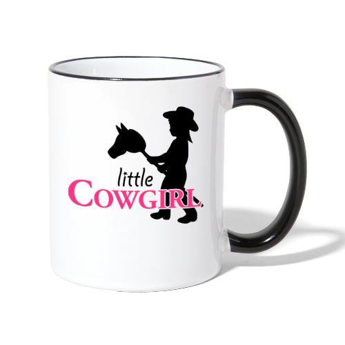 LittleCowgirl W - Tasse zweifarbig