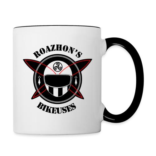 Roazhon's Bikeuses Rennes - Mug contrasté