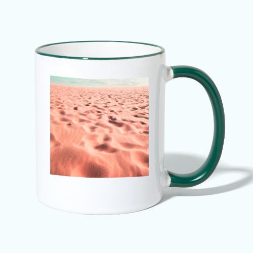 Sand beach minimalism - Contrasting Mug
