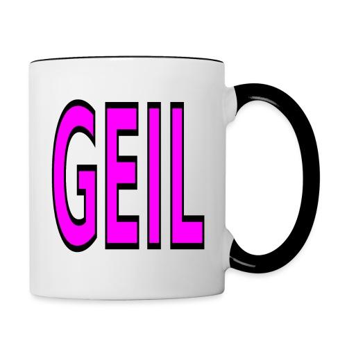 Holgator Geil - Tasse zweifarbig