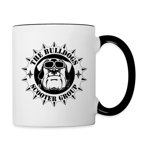 Bulldogs Scooter Group Logo-Black - Mug contrasté