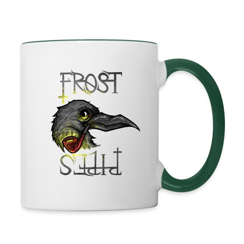 Frost Pipes Crow - Contrasting Mug