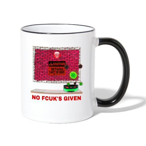The Red Button - Contrasting Mug