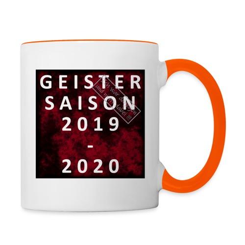 GEISTERSAISON 2019/2020 - Tasse zweifarbig