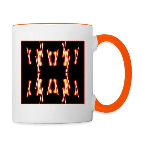 Lichtertanz #4 - Tasse zweifarbig