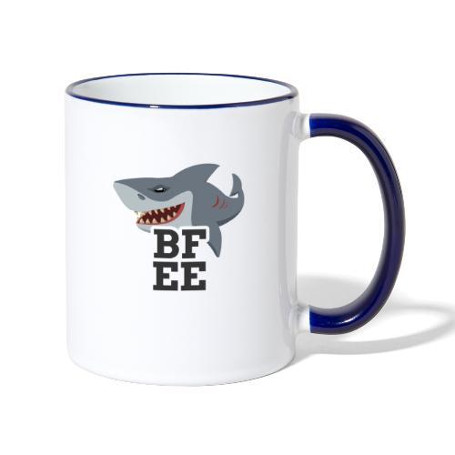 BFEE Logo - Tasse zweifarbig