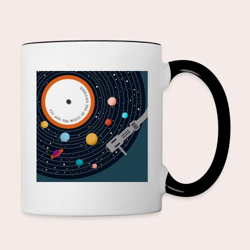 You Are The Music Of The Universe - Tasse zweifarbig
