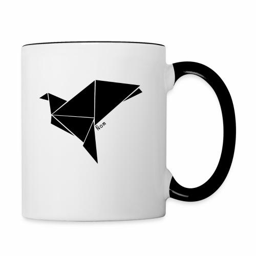 Origami - Mug contrasté