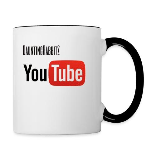 DauntingRabbit2 - Tvåfärgad mugg